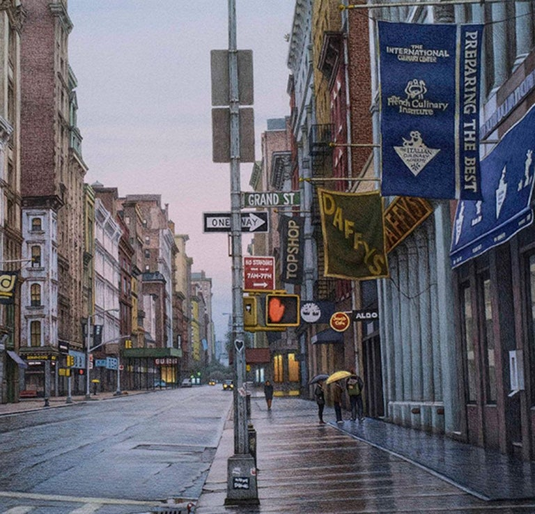 Grand Street and Broadway - Contemporary Art by Frederick Brosen