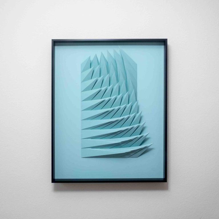 Yossi Ben Abu Abstract Sculpture - Pool Swirl