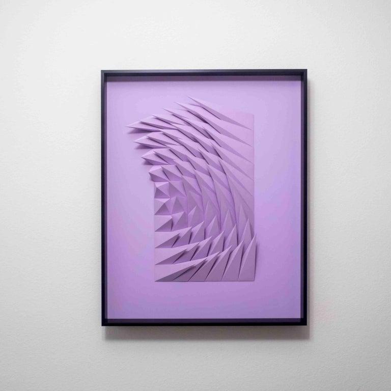 Yossi Ben Abu Abstract Sculpture - Plum swirl