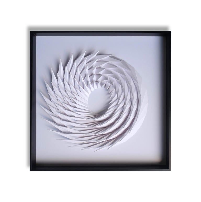 Yossi Ben Abu Abstract Sculpture - Revolution - wall sculpture