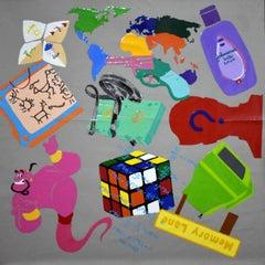 Memory Lane - object figurative painting