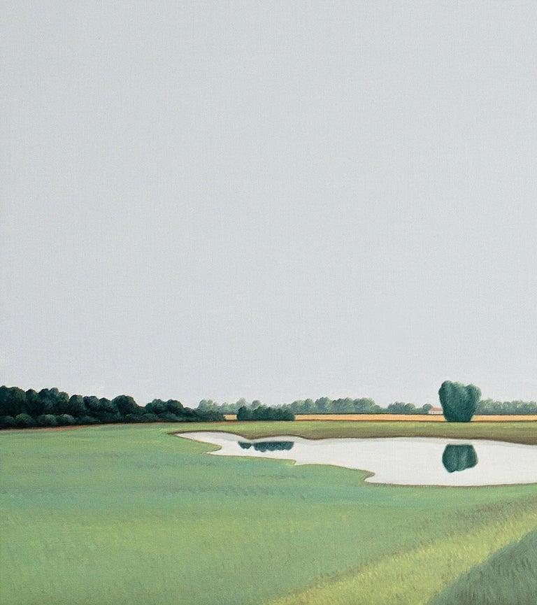 Ooijpolder - Landscape painting - Painting by Jeroen Allart