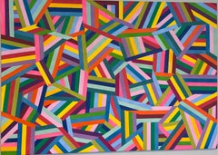 Abstract 1 - geometric abstract painting