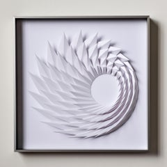 Growth - geometric abstract wall sculpture