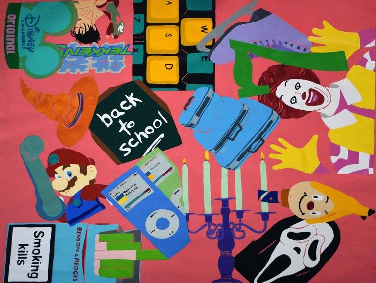 Zoha Zafar Still-Life Painting - Nostalgia Signal 2