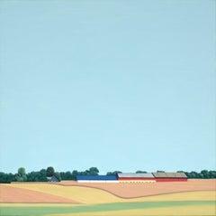 Skane Lane - landscape painting