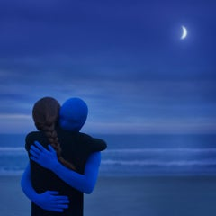 Blue moon - color surreal photography