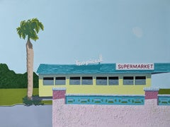 Tropical Supermarket - landscape painting