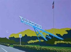 Islander resort - landscape painting
