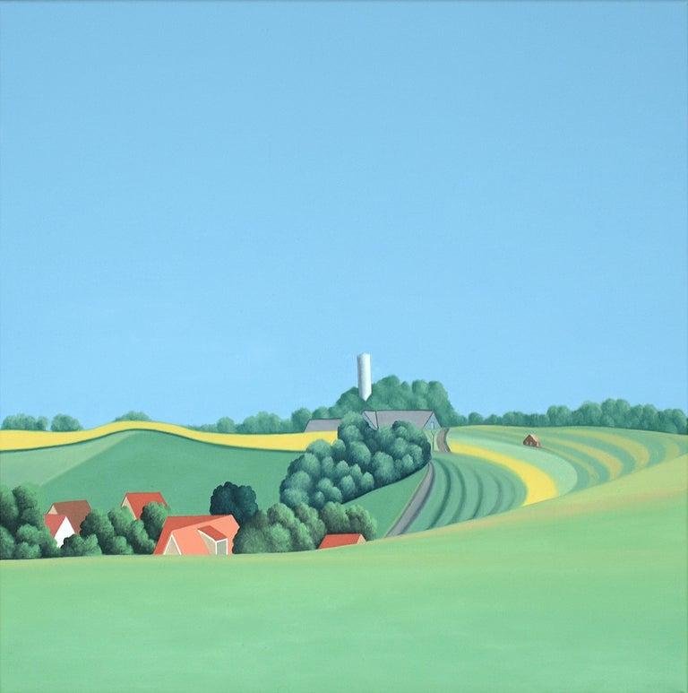 Jeroen Allart Landscape Painting - Zweden - landscape painting