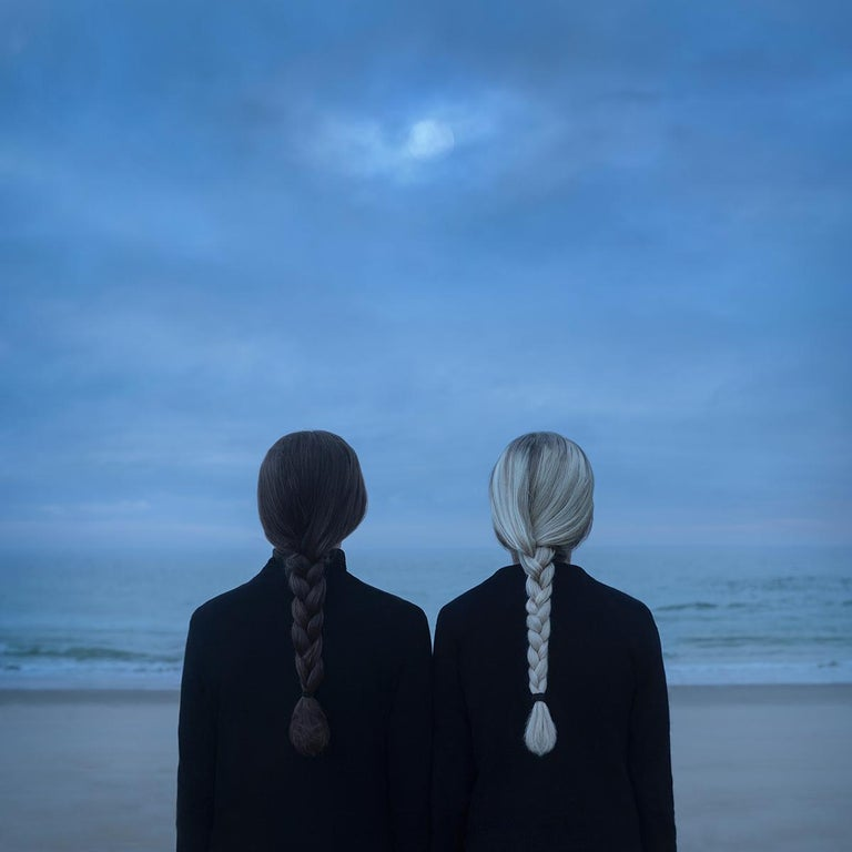 Gabriel Isak Color Photograph - Discovery at night - color photography