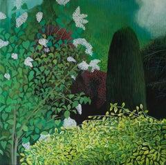 Pandemic 16 - landscape painting, minimalist painting