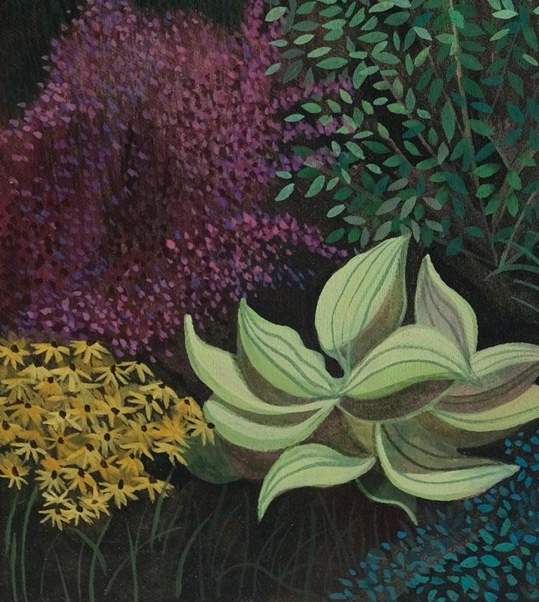 Pandemic 6 - landscape painting, minimalist painting - Minimalist Painting by Olga Szczechowska