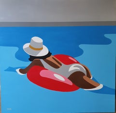 Floating - contemporary minimalist painting