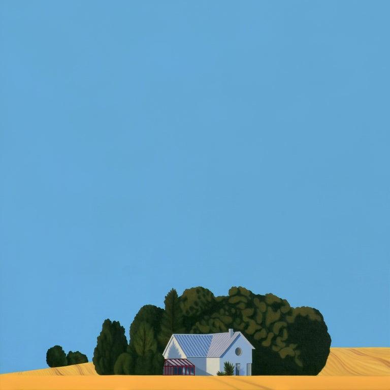 Jeroen Allart Animal Painting - Sweden - landscape painting