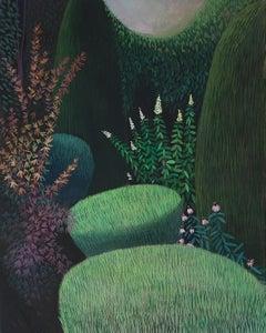 Pandemic 30 - landscape painting, minimalist painting