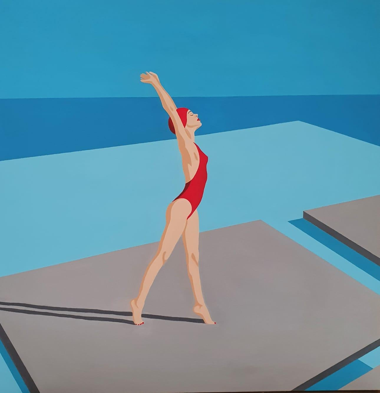 Breathing - contemporary minimalist painting