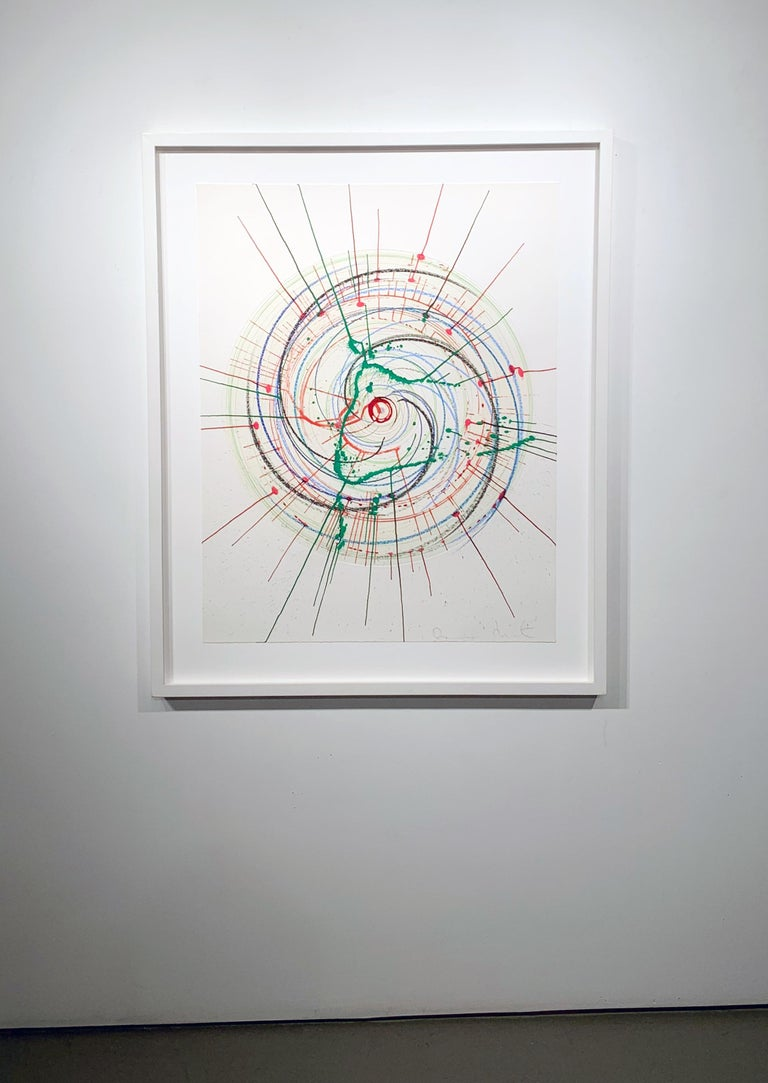 In A Spin (Unique) There is more to life than making jam and having kids - Art by Damien Hirst