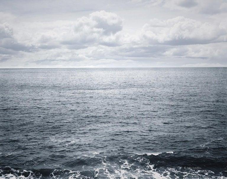 Ocean landscape photography - Atlantic Ocean n.3  - 41 x 53 in.custom acrylic  - Photograph by Henning Bock