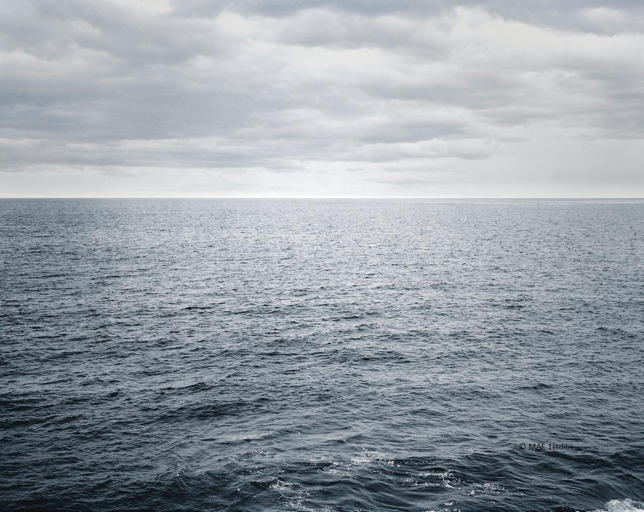 Ocean landscape photography - Atlantic Ocean n.3  - 41 x 53 in.custom acrylic