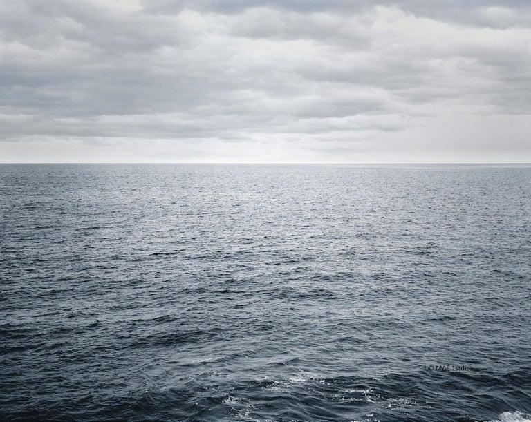 Henning Bock Color Photograph - Ocean landscape photography - Atlantic Ocean n.3  - 41 x 53 in.custom acrylic