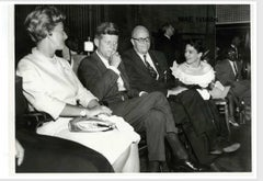 "Icons 30x40"" silver gelatin - John F Kennedy, Shrine Auditorium, Calif.  1960"