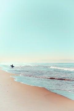 """American Landscapes 24x36"""" - California Colors 5, Santa Monica and Malibu"""