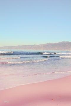 """American Landscapes 24x36"""" - California Colors 4, Santa Monica and Malibu"""