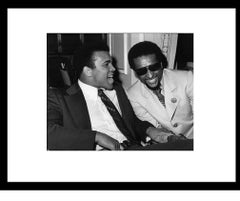 Icons and people - Muhammad Ali, Stokely Carmichael, Los Angeles, 1973 unframed