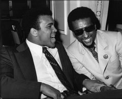Icons & People - Muhammad Ali, Stokely Carmichael, Los Angeles, 1973 Print Later