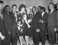 """Icons 16x20"""" silver gelatin print - Martin Luther King Jr. reception in LA 1963"""