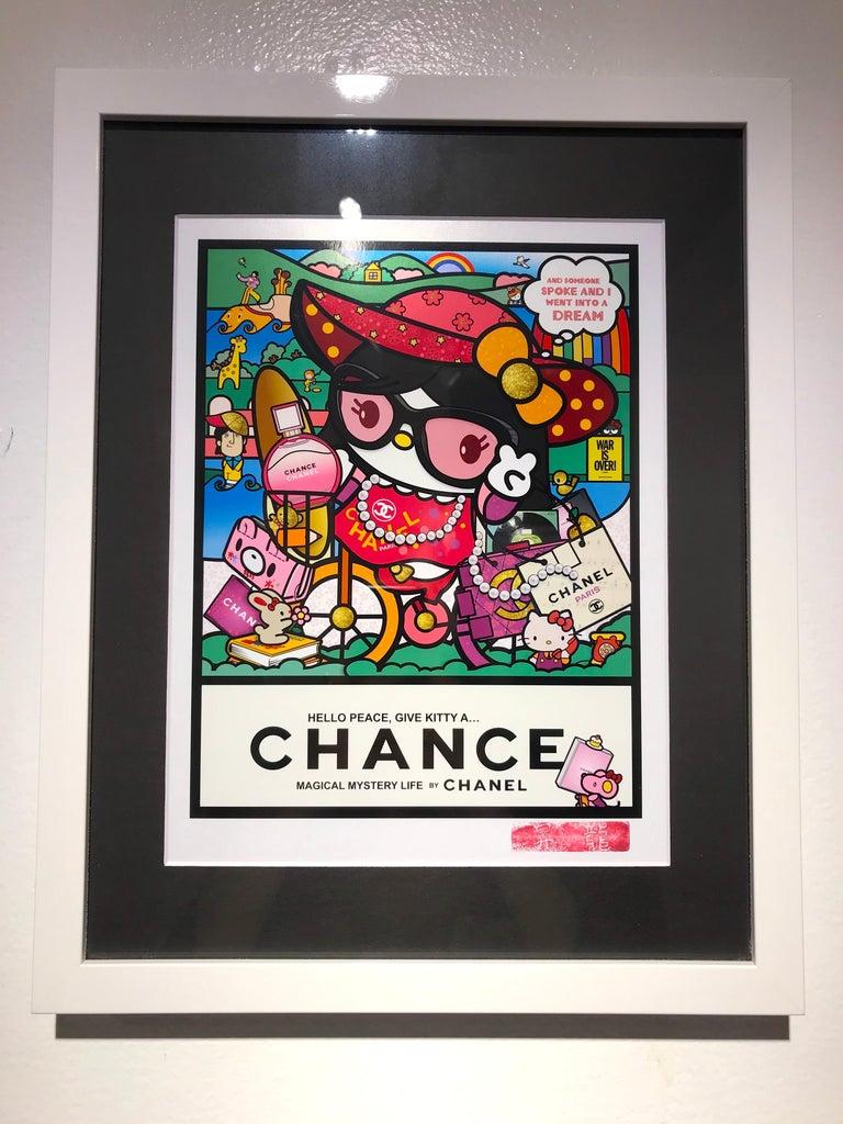 Sean Danconia Figurative Print - Hello Yoko, Kitty Ono