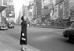 Audrey Hepburn, Times Square