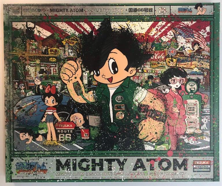 Sean Danconia Figurative Print - Astro Boy, Mighty Atom