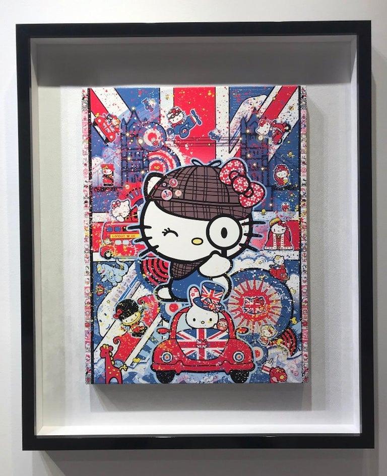 Sean Danconia Figurative Print - Hello London