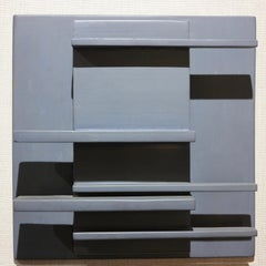 Wall Relief 1966-CC (abstract wall sculpture)