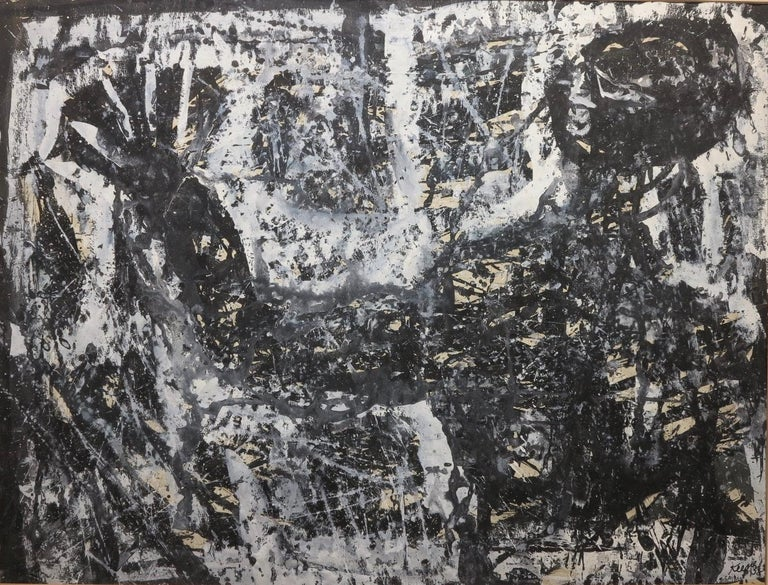 Paul F. Keene Jr. Abstract Painting - Blues Singer