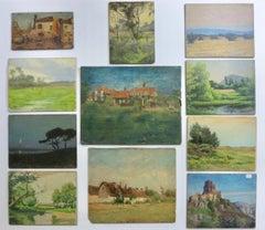 California & France Impressionist Landscape Painting Portfolio
