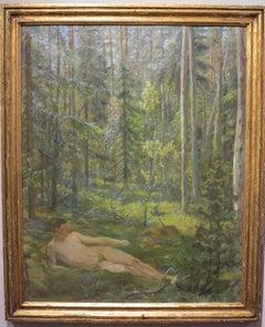 Arcadian Male Nude Landscape