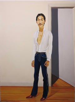 Untitled Male Portrait (Designer Jeans)