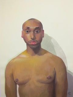 Untitled Male Portrait (Shirtless)