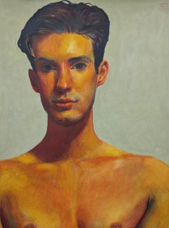 Untitled Male Portrait (Parted Hair)