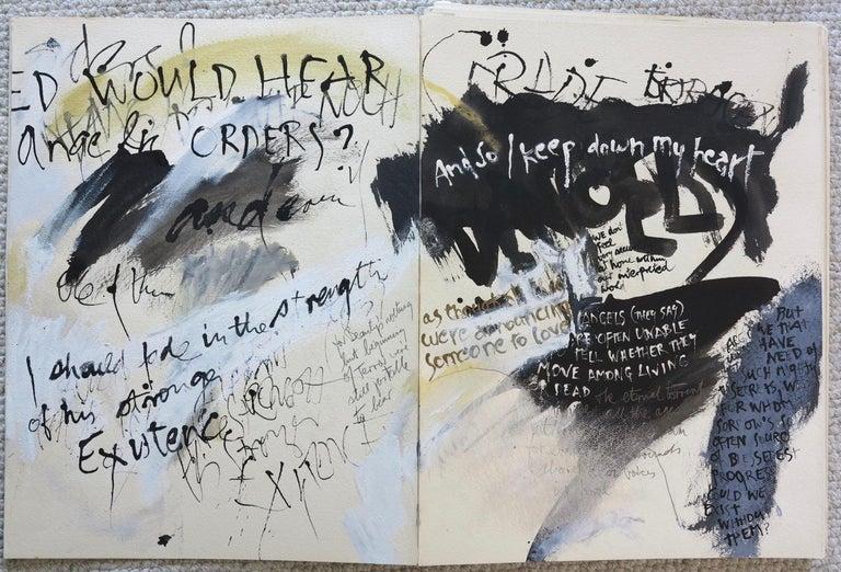 Ricard Mann Abstract Painting - Duino Elegies