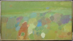 Landscape (abstract expressionist mid-century landscape)