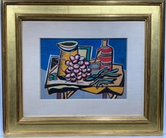 Nature Morte (cubist still life painting)