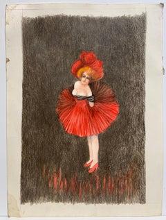 Showgirl (Chorus Girl drawing)