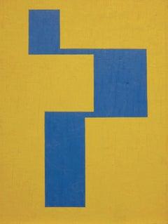 Untited (#A2) Minimalist Hard Edge painting
