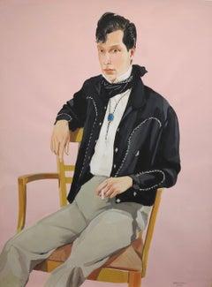 Untitled Male Portrait (Rockabilly)