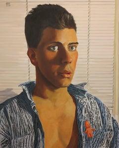 Untitled Male Portrait (Cupie Doll)