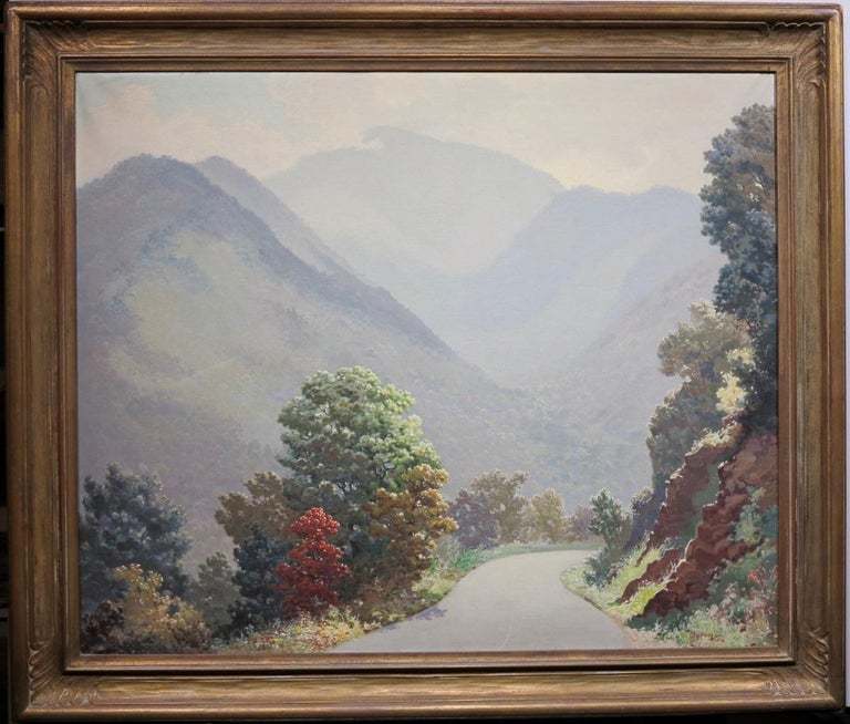 Mount Le Conte (Smoky Mountains Tennessee Landscape Painting) For Sale 5